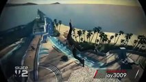 """Game Fails: Skate 2 """"New trick: Kick flip to a frontside Impalement"""""""