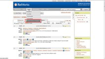 2.1 Adding References to RefWorks by Searching Online Catalogs or Databases