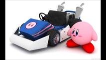 Mario Kart 64: Rainbow Road (Kirby Squeak Squad style)