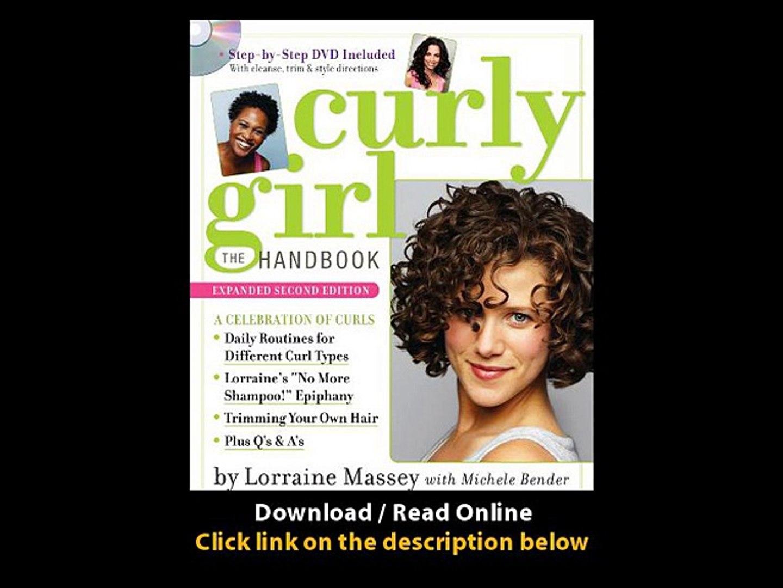 Download Curly Girl The Handbook By Michele BenderLorraine MasseyDeborah  Chiel