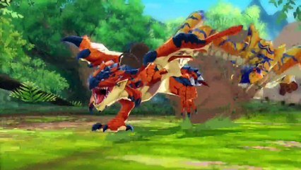 Monster Hunter Stories - First Video de