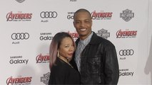 """Rapper T.I. and Tameka TINY Cottle """"Avengers Age of Ultron"""" World Premiere Red Carpet"""