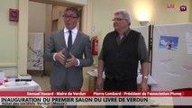 Inauguration du Salon du livre 2015 de Verdun - Discours de Samuel Hazard - Maire de Verdun