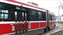 GO, VIA and TTC Streetcars at Long Branch, Toronto, 17.03.12