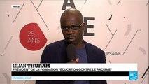 25 ans de l'AEFE : Lilian Thuram au journal de France 24