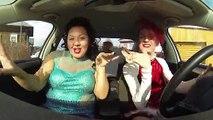 3 russes dansent dans une voiture et parodient le Lipdub des 3 jolies australiennes
