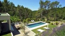 PROPRIÉTÉ à vendre - 2 km centre Aix-en-Provence - Bassin de nage sur jardin paysagé de 4000 m2.