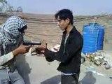Brutal Killing of taliban funny new osama video usiing 9MM killed