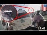 Un flic demande à un suspect de laisser tomber son arme pour ensuite lui tirer dessus