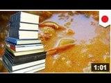 Un pépé jette ses ordure dans une boite de bibliothèque, c'est pas merchant ohhhhh