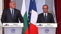Déclaration conjointe avec Boïko Borissov, Premier ministre de Bulgarie