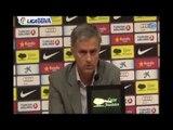 Deportes / Fútbol; Real Madrid, Mourinho: 'Messi y Cristiano son de otro planeta'