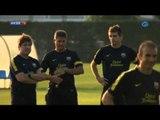 Deportes / Fútbol; El Barcelona regresa a los entrenamientos con solo cinco efectivos