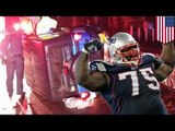 Vince Wilfork rescues woman: Patriots DT saves woman from overturned SUV after AFC title game