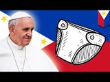 Filipino traffic cops in diapers: Pope Francis visit prompts cops to rock adult diapers