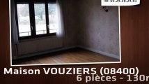 A vendre - VOUZIERS (08400) - 6 pièces - 130m²