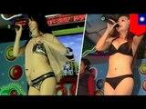 Mga Taiwanese dancers, patuloy sa pag-strip-dance kahit maginaw sa Taiwan!