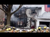 Plane crashes into house: six dead after jet crashes into home in Washington D.C. suburbs