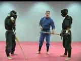 Rick Tew Ninja Training Sword Combat Game Martial Art and Ninja Camp California