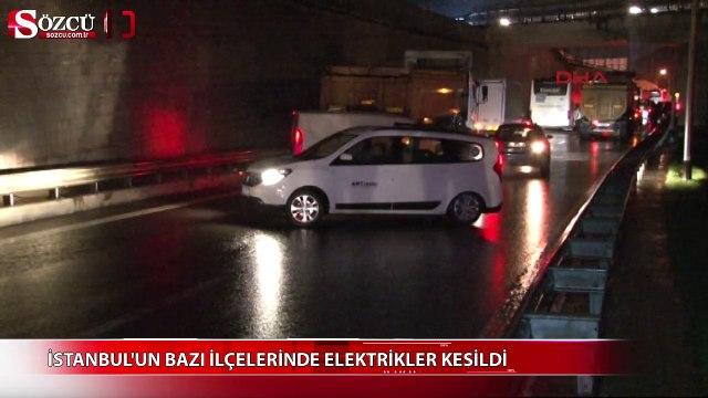 İstanbulun bazı ilçelerinde elektrikler kesildi