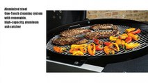 Weber 15507001 Performer Deluxe Charcoal Grill, 22