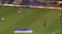 Ipswich 3 vs 1 Cardiff ~ [Sky Bet Championship] - 14.04.2015 - All Goals & Highlights