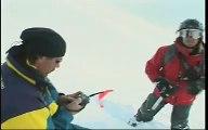 Snowboarding Big Mountain Heli boarding