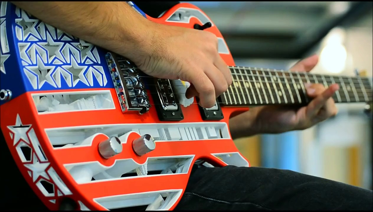 The Sound of 3D Printed Guitars