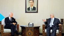 UN Envoy to Start Talks in May to Try to Relaunch Negotiations Aimed at Ending Syrian Conflict