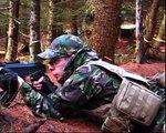 Airsoft War RPG G36C AK47 MP5 L85 Dutch in Scotland