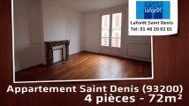 A vendre - Appartement - Saint Denis (93200) - 4 pièces - 72m²