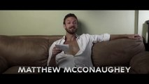Screen Test: ROSS MARQUAND as Brad Pitt, Matthew McConaughey, Harrison Ford, Kevin Spacey