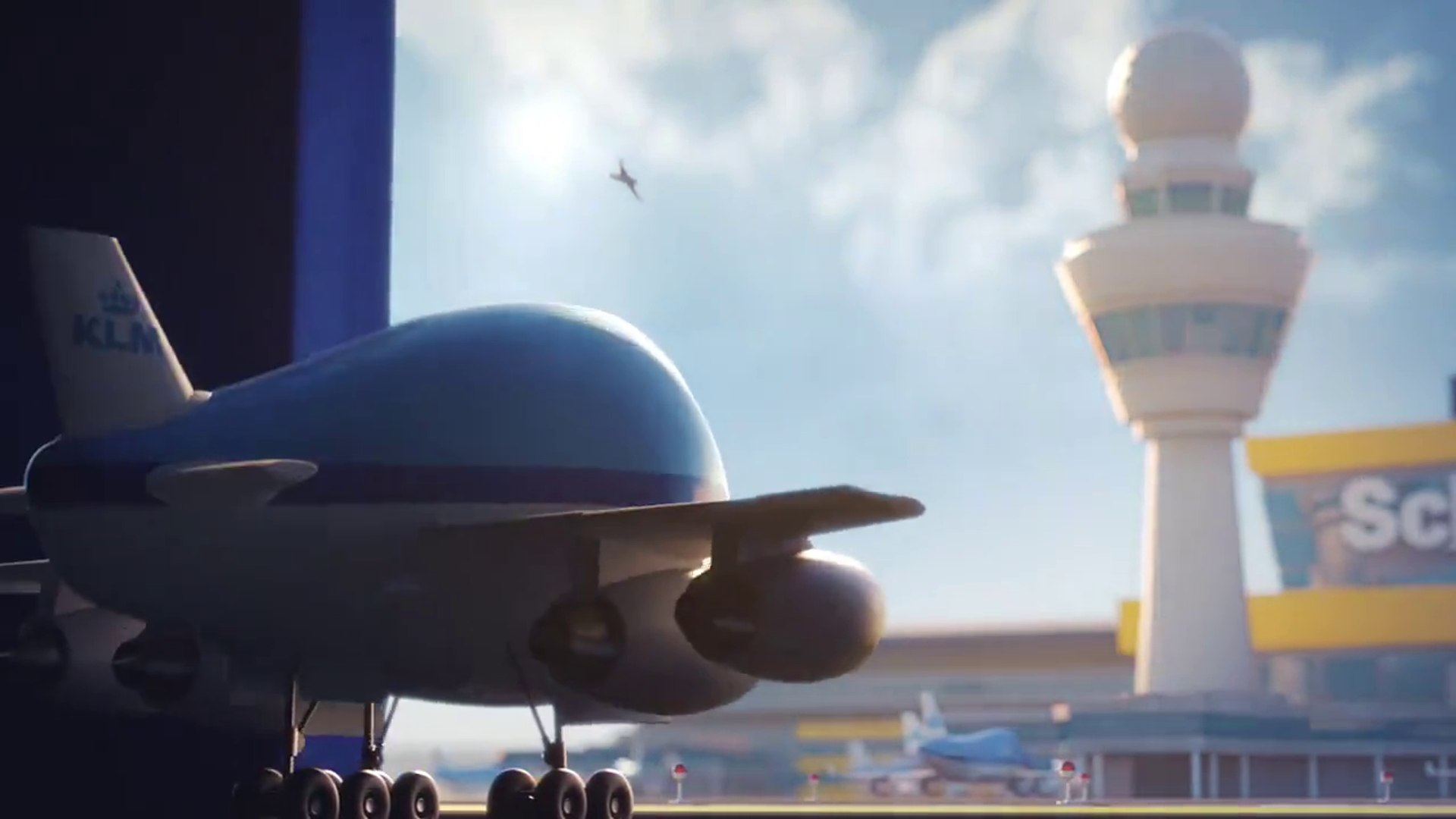 KLM Royal Dutch Airlines - Adventures of the Bluey  little KLM 747