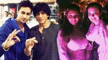 Shahrukh Khan, Gauri Khan & AbRam Partying In Goa