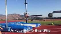 Saut à la perche : Renaud Lavillenie réalise un salto en passant la barre