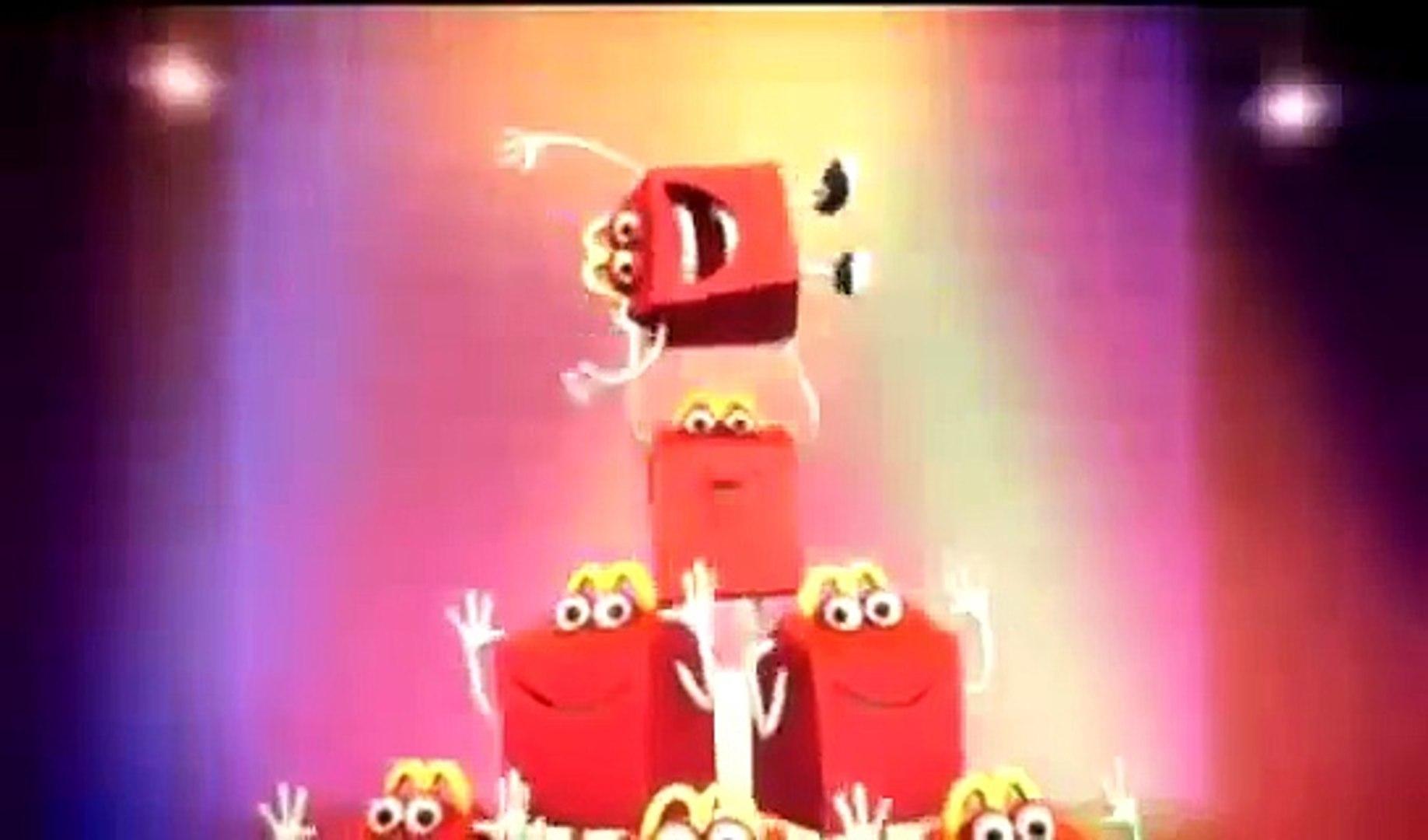 Anuncio McDonald's Cajas Bailando Happy 2010 - Feliz 2010 / Dance Happy New Year 2010