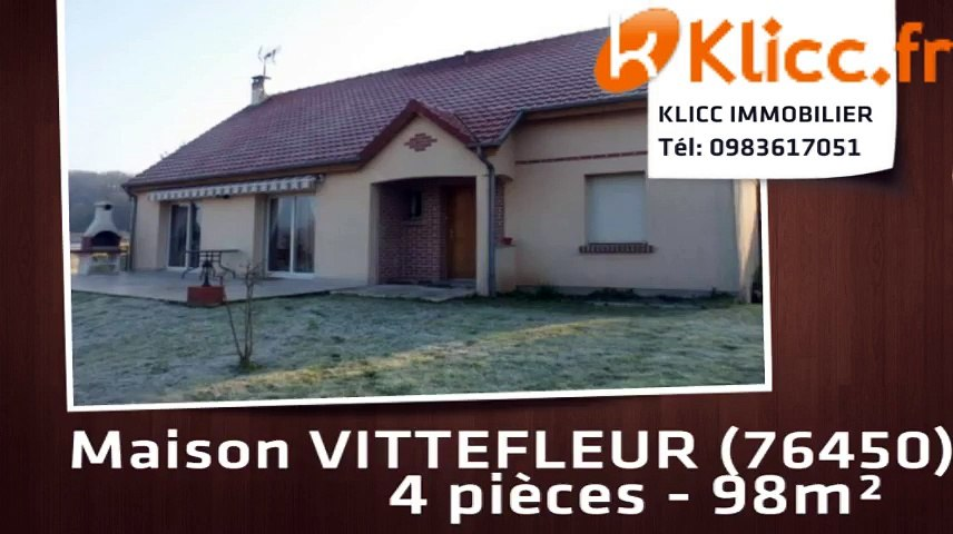 A vendre - VITTEFLEUR (76450) - 4 pièces - 98m²