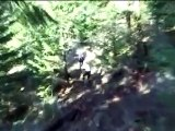 Cable cam extreme downhill mountain bike
