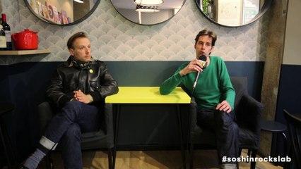 Interview de Romain Guerret et Arnaud Pilard, deux des membres du groupe Aline