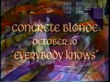 Concrete Blonde - Everybody Knows (live)