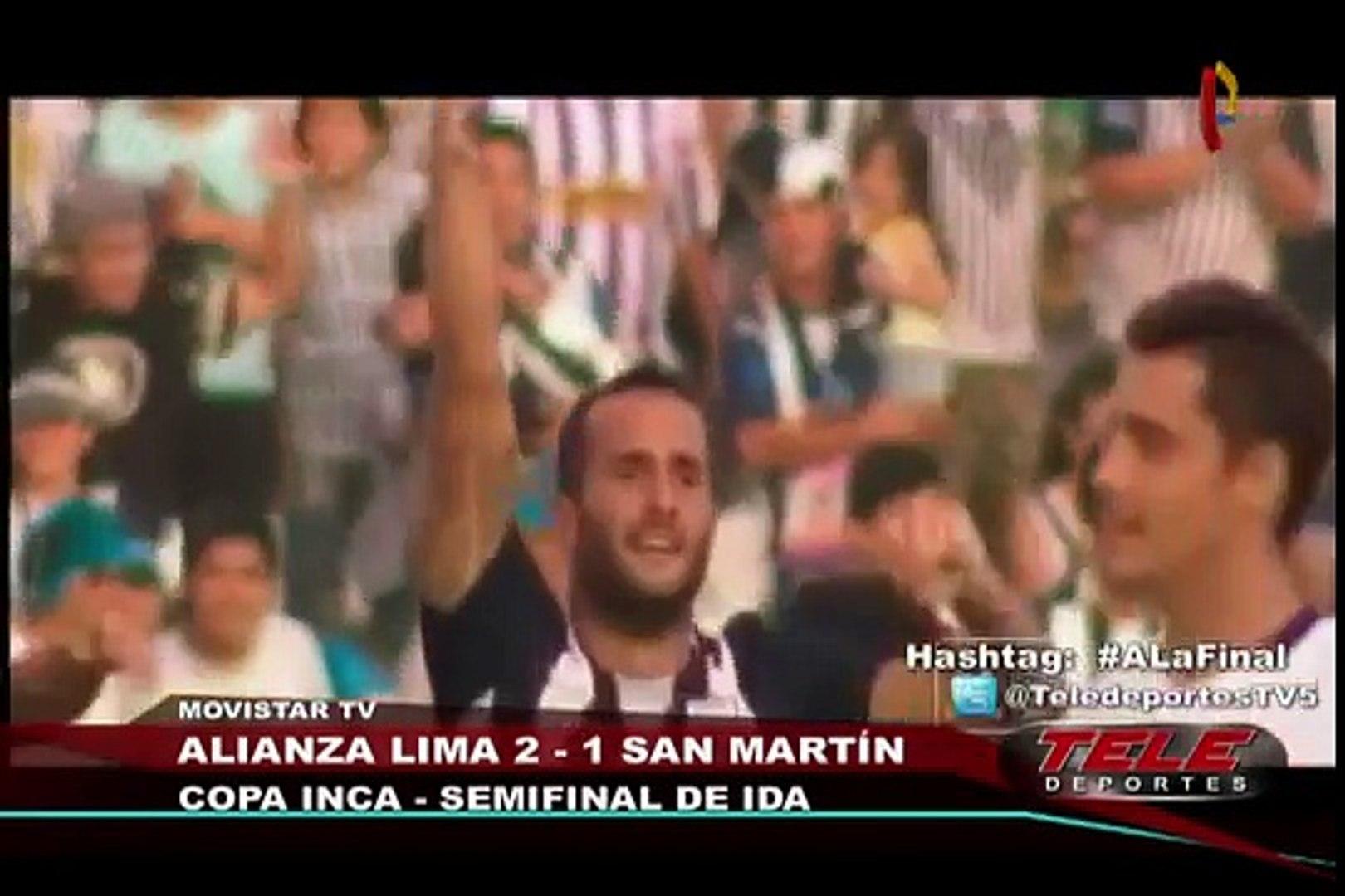Alianza Lima venció 2-1 a San Martín por el Torneo del Inca