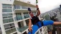 OMG!!! World's Largest Urban Zipline