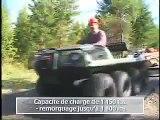 VTT Amphibie | Véhicule Tout-terrain - 8X8 750 HDi - ARGO Tout-terrain VTTT