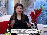 SYED KHURRAM ABBASS NAQVI at Kay2 Sahar Mishi Khan Ke Saath Morning Show