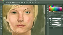 Realistic Digital Painting - Elisha Cuthbert Meets Digital Painting | SPEED PAINTING