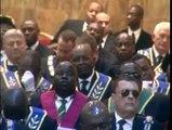 Ils sont tous là - les Maçons Gabonais