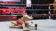 Raw: Kelly Kelly & Eve vs. Maryse & Melina