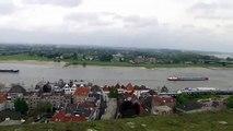 Netherlands: The River Waal near Nijmegen