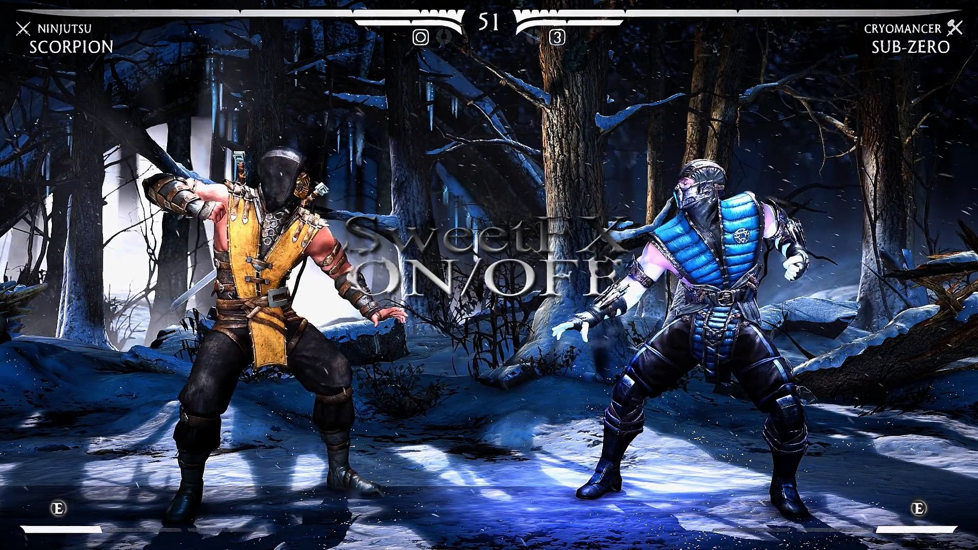 MORTAL KOMBAT X - SweetFX / Reshade / MasterEffect - gameplay PC [ Improved  graphics mod ]