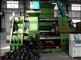 High capacity metal chip briquetter,scrap metal briquetting press,metal recycling machine